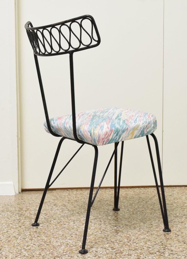 Salterini Patio Furniture Parts: Salterini Bistro Chairs For Sale At 1stdibs