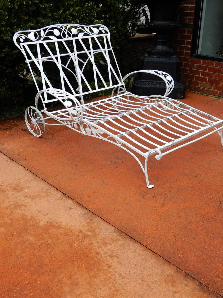 Salterini Double Chaise Della Robbia Pattern For Sale At