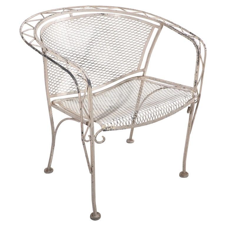 Salterini Garden Patio Armchair For Sale