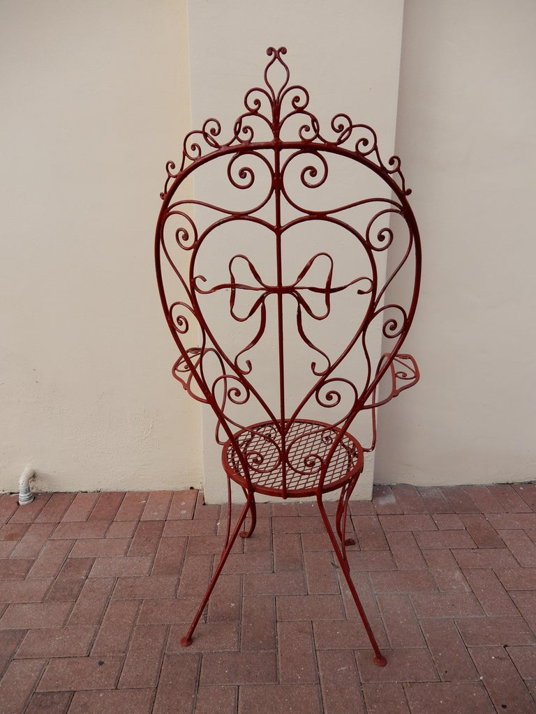 Salterini Inspired Armchair In Good Condition For Sale In Long Island, NY