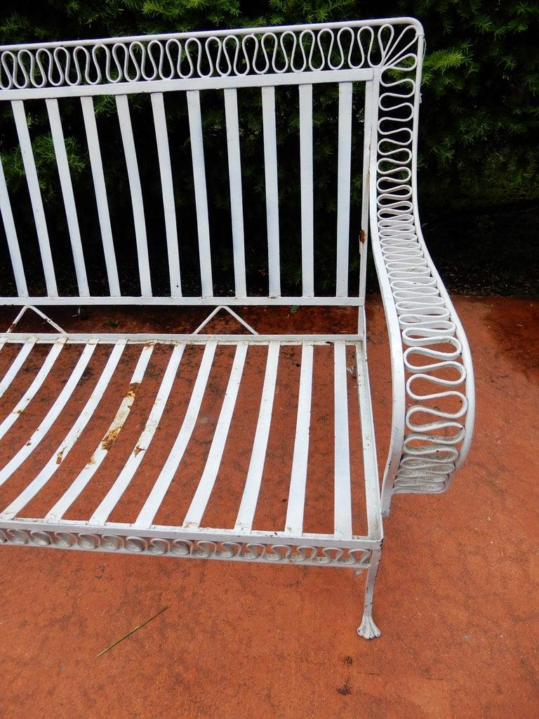 American Salterini Mid-Century Modern Ribbon Sofa For Sale