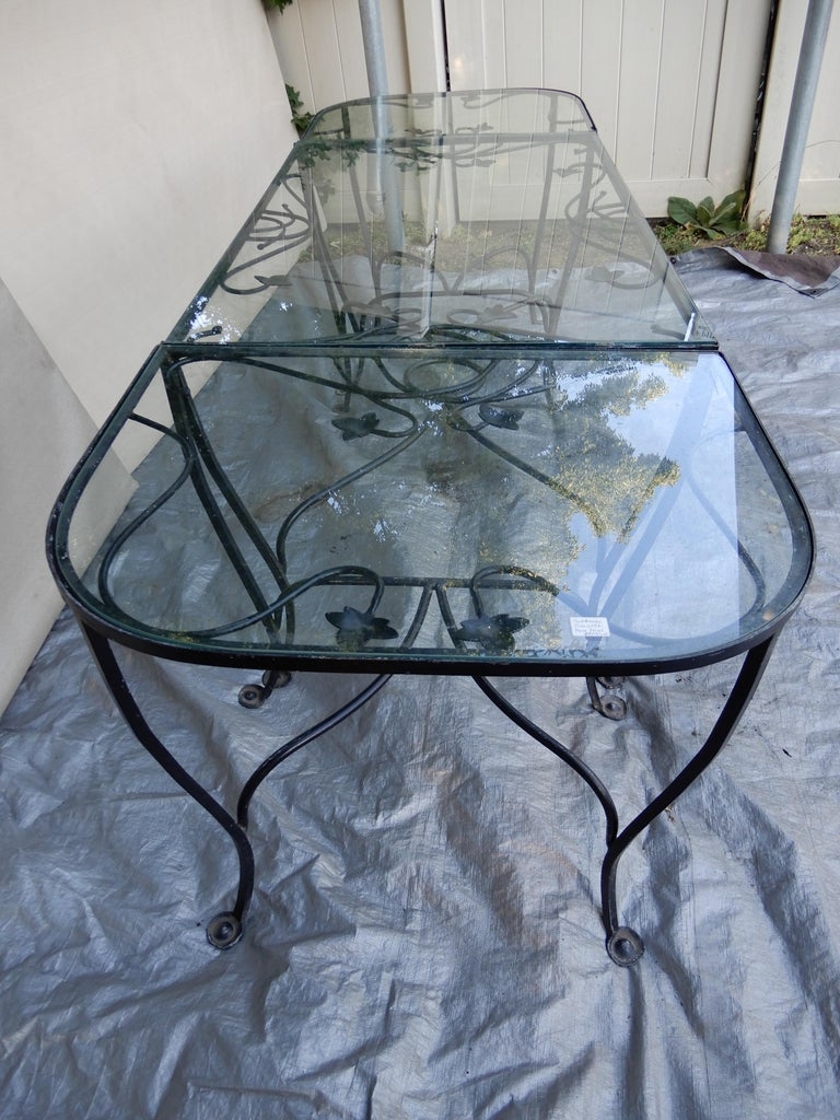 Salterini Mt Vernon Vintage Dining Set In Good Condition For Sale In Long Island, NY
