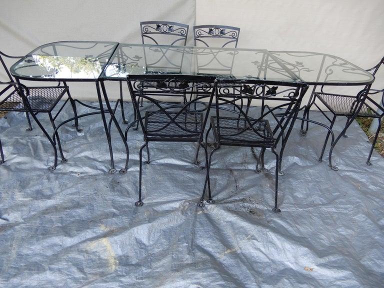 Mid-20th Century Salterini Mt Vernon Vintage Dining Set For Sale