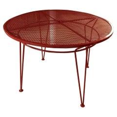 Salterini Patio Dining Table Vibrant Red