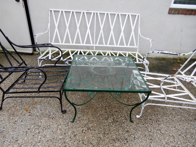 Mid-20th Century Salterini Patio Set 4-Piece Mt Vernon Ready to be Restored For Sale