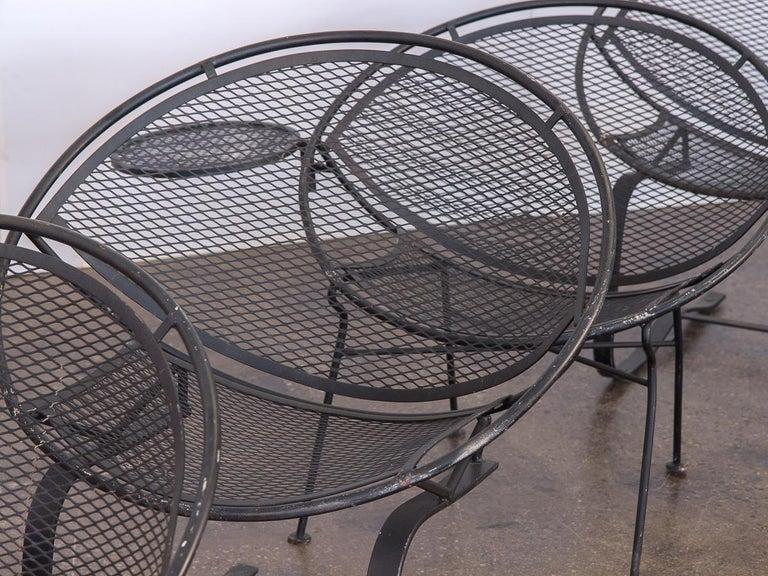 Iron Salterini Radar Patio Set For Sale