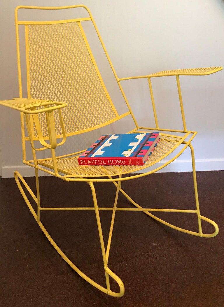Salterini Patio Furniture Parts: Salterini Rocking Chair For Sale At 1stdibs