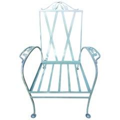 "Salterini Vintage ""Magnolia"" Armchair and Chaise Lounge"