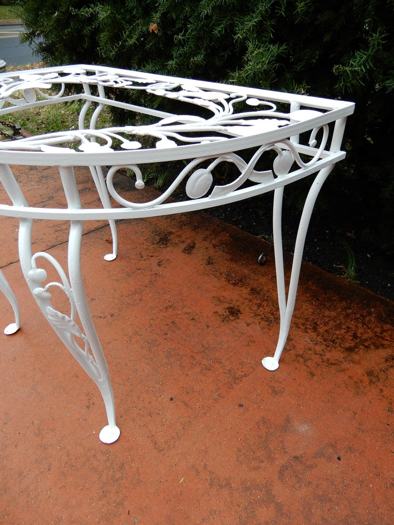Salterini Vintage Rare Console Table In Good Condition For Sale In Long Island, NY
