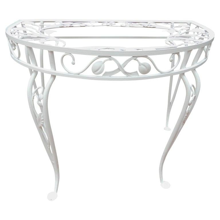 Salterini Vintage Rare Console Table For Sale