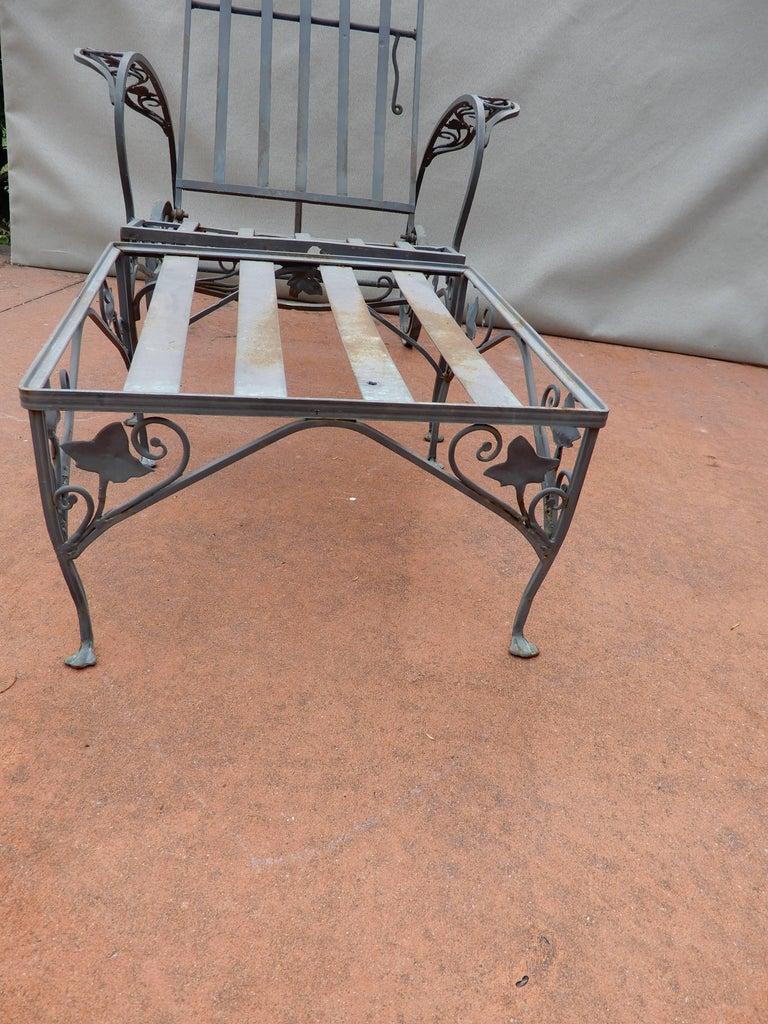 Salterini Vintage Two Piece Chaise Lounge Mt Vernon