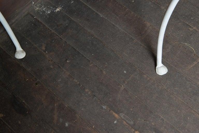 Salterini Wrought Iron Demi Lune Console Table For Sale 7