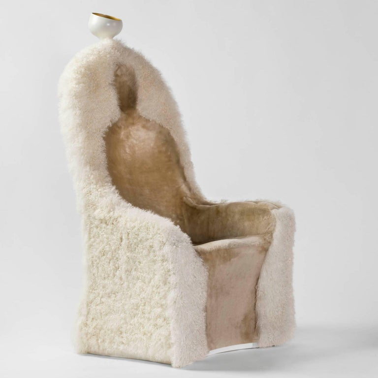 Armchair designed by Salvador Dali manufactured in Spain by BD.