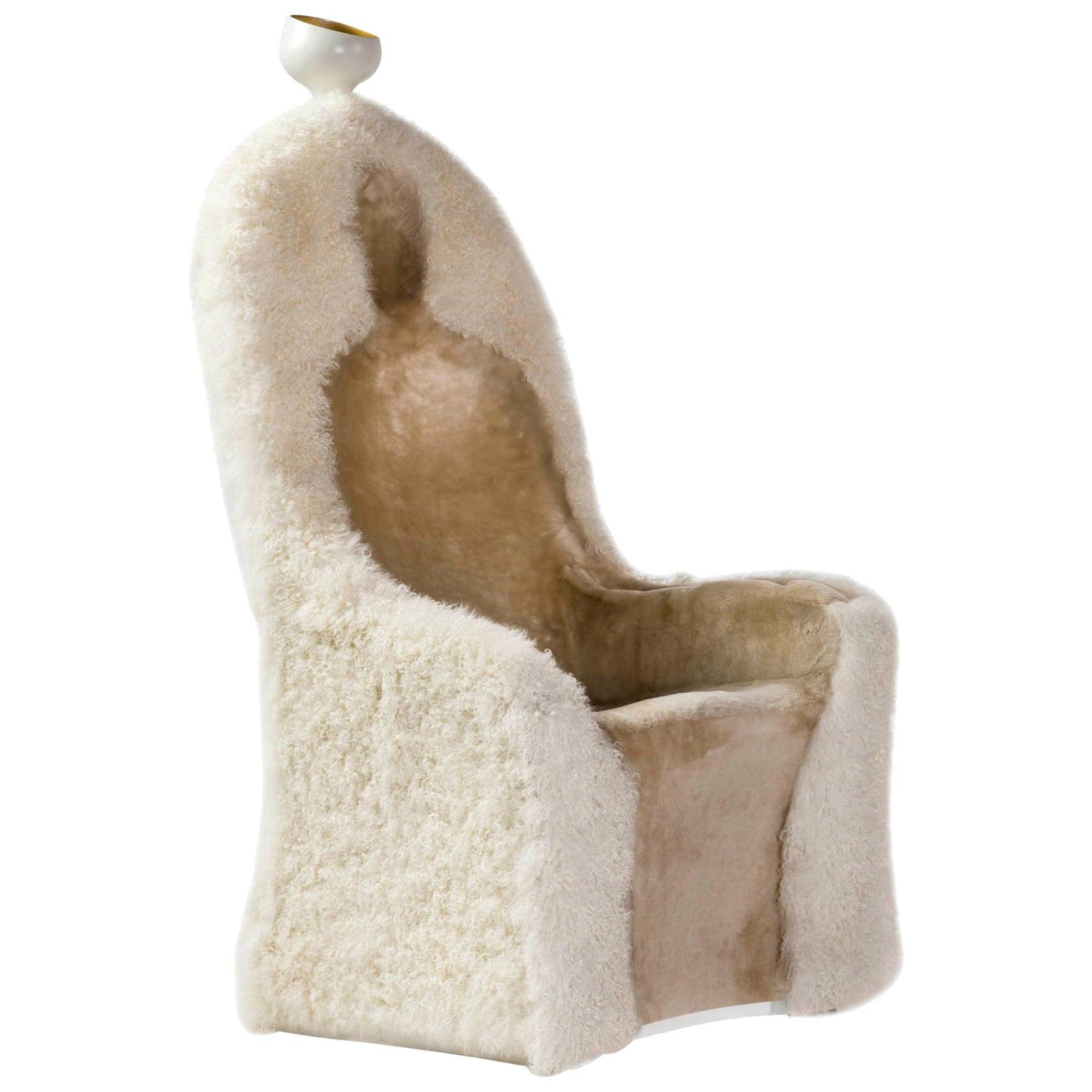 Salvador Dali, Contemporary, Limited Edition 'Invisible Personage' Armchair