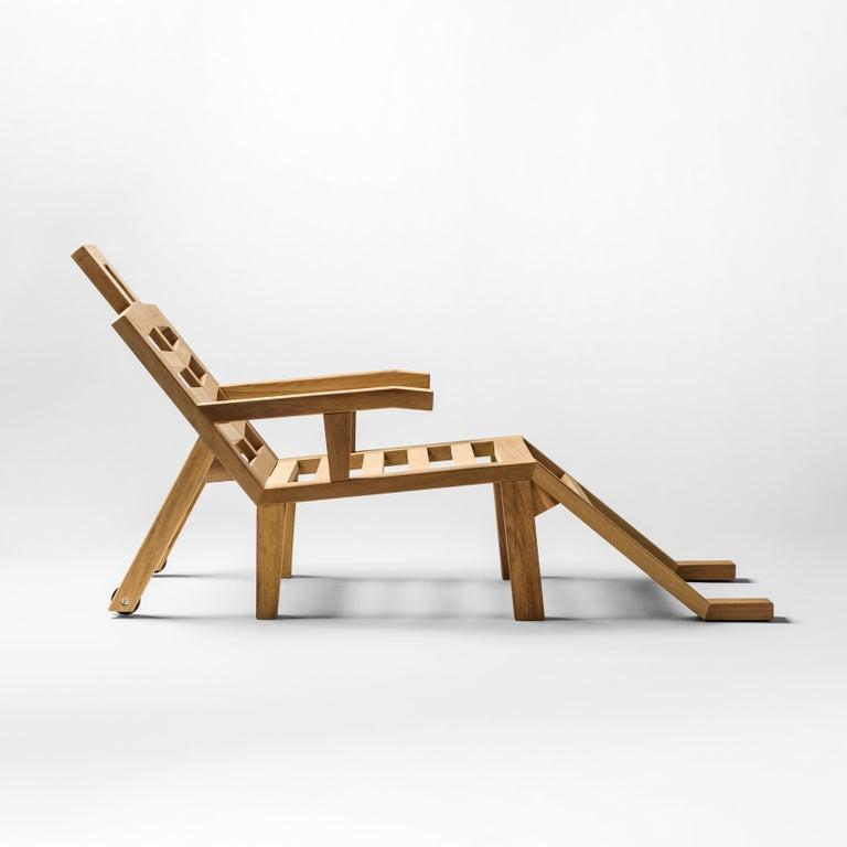 Modern Salvador Dali Contemporary Portlligat Wood Sculpture Sunbed For Sale