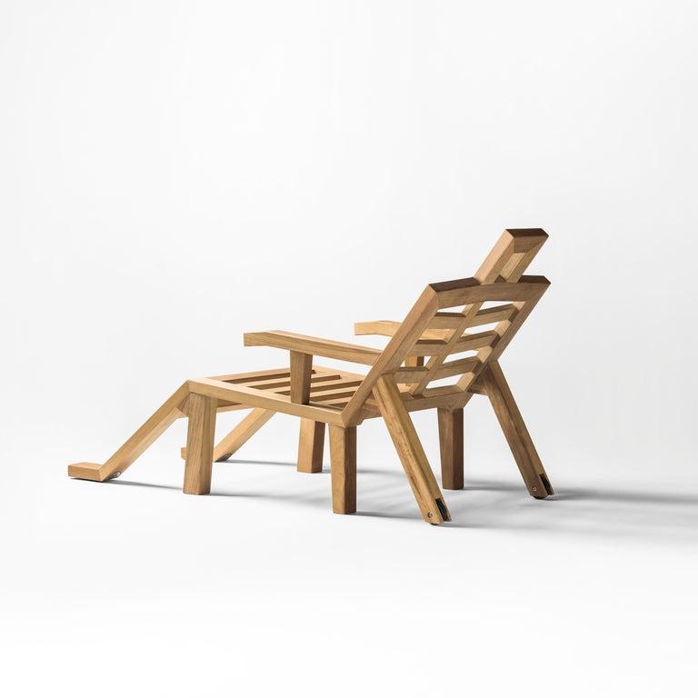 Spanish Salvador Dali Contemporary Portlligat Wood Sculpture Sunbed For Sale