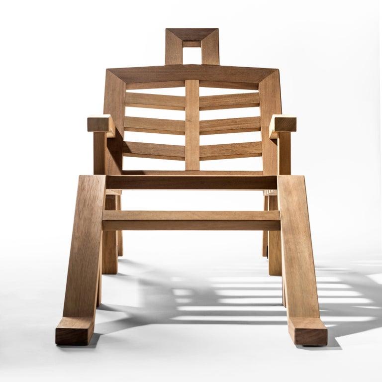 Salvador Dali Contemporary Portlligat Wood Sculpture Sunbed For Sale 2