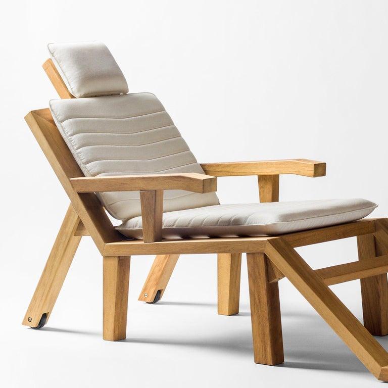 Salvador Dali Contemporary Portlligat Wood Sculpture Sunbed For Sale 3