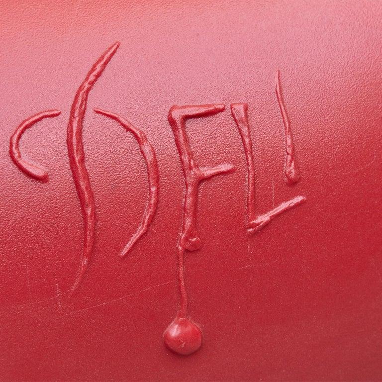 Salvador Dali, Contemporary, Red Dali Lips Sofa For Sale 10