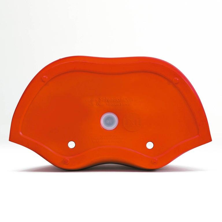 Salvador Dali, Contemporary, Red Dali Lips Sofa In Good Condition In Barcelona, Barcelona