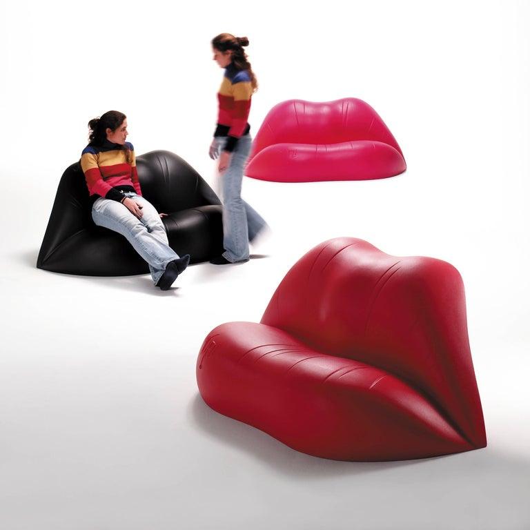 Plastic Salvador Dali, Contemporary, Red Dali Lips Sofa