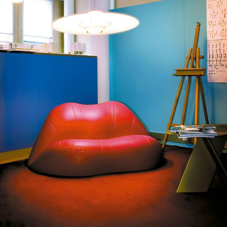 Salvador Dali, Contemporary, Red Dali Lips Sofa 1