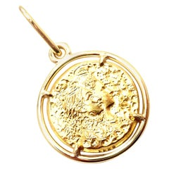 Salvador Dali D'or for Piaget Yellow Gold Pendant