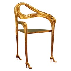 Salvador Dali Leda Armchair, Sculpture