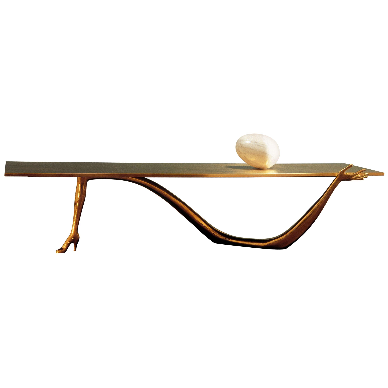 Salvador Dali Leda Low Table, Sculpture
