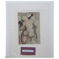 Salvador Dali Les Morts par Violence Divine Comedy Woodcut Engraving Purgatory 6