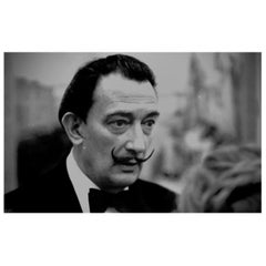 Salvador Dalí, Metropolitan Museum, NYC, 1958 Raymond Jacobs Archival Photograph