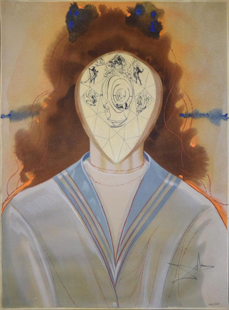 L'Immortalité - L'Alchimie des Philosophes - 1976 - Salvador Dalì - Modern Art - Mixed Media Art by Salvador Dalí