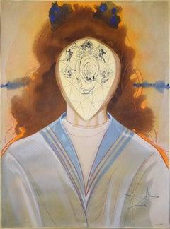 L'Immortalité - Mixed Media by Salvador Dalì - 1976