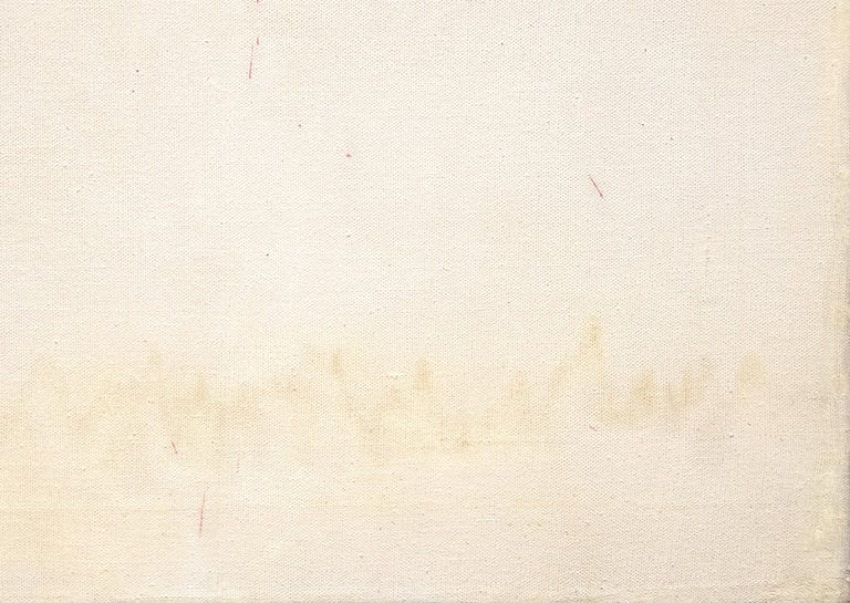 Signature de Dali - Beige Abstract Painting by Salvador Dalí