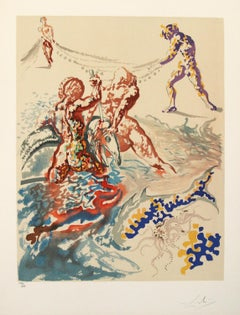 Aliyah Suite: Let Them Have Dominion Lithograph by Salvador Dali
