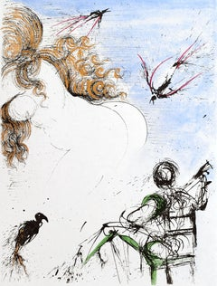 """Apollinaire """"Woman with Parrot"""" (91/145)"""