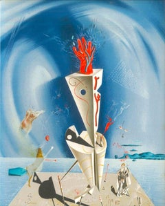 Appareil et Main - Original Lithograph by Salvador Dalì - 1974