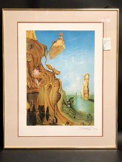 """Attributed to Salvador Dali """"Imperial Monument"""" Lithograph"""