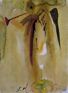 Biblia Sacra The Voice of One Crying Out Salvador Dali