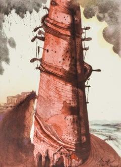 Biblia Sacra Tower Salvador Dali
