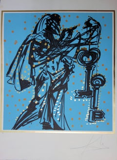 Blue Peter - handsigned lithograph - Artist proof
