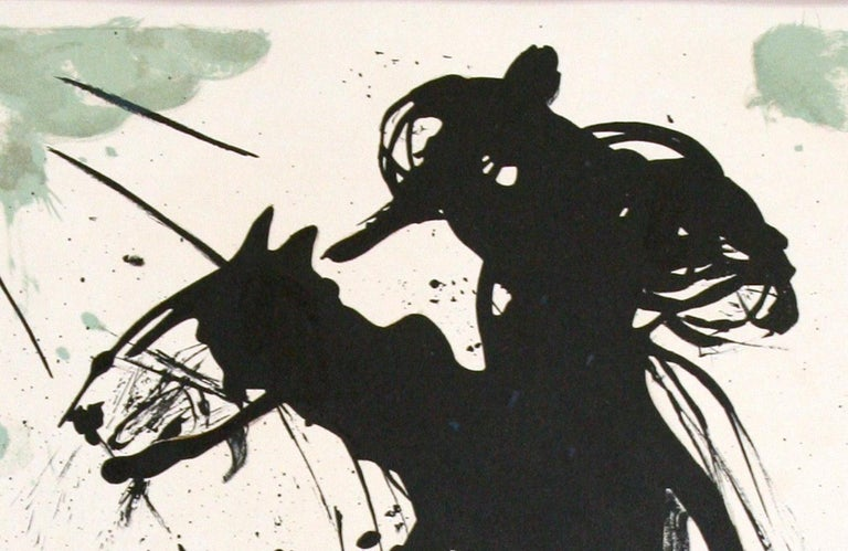 Bullfight No. 5 original lithograph by Salvador Dali For Sale 1