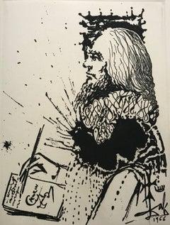 Calderon's portrait