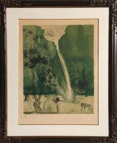 Carmen, Framed Lithograph by Salvador Dali