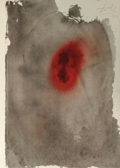 Consummatum est! - Original Lithograph by S. Dalì - 1964