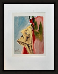 PARADISE CANTO 7 - DANTE IN DOUBT - LIMITED EDITION SIGNED IN PLATE