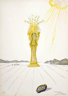 Daphne - Original Lithograph by Salvador Dalì - 1975/76