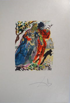 Daughter of Minos - Original Woodcut, Handsigned, 1979