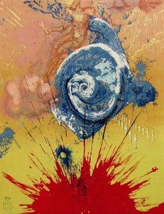 Dawn, 1957 Limited Edition Lithograph, Salvador Dali