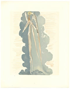 Divine Impenetrability - Original Woodcut by Salvador Dalì - 1963